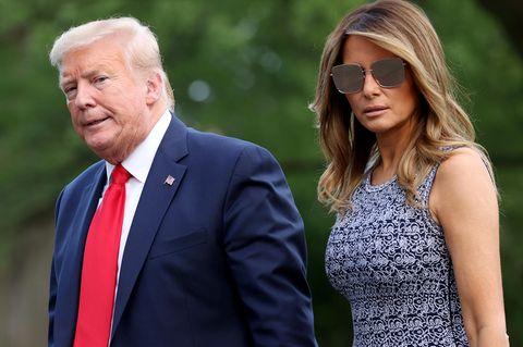 Melania Trump: Lässt sie sich jetzt von Donald scheiden?