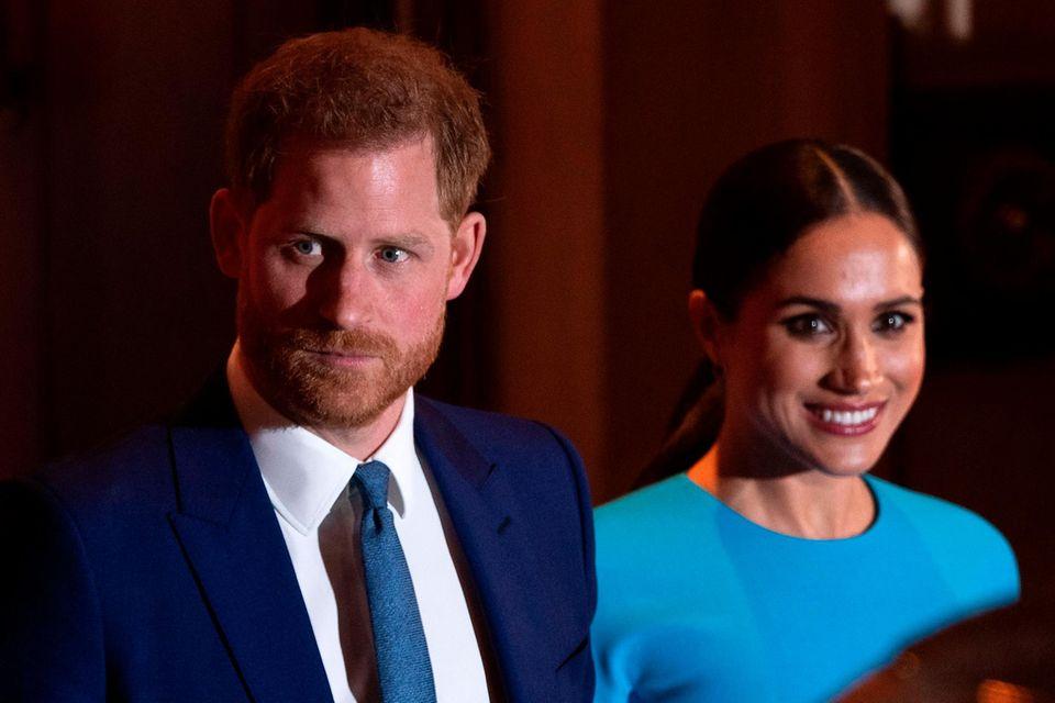 Meghan und Harry: Kritik für diesen Auftritt