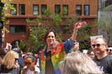 Kamala Harris: Die US-Vizepräsidentin auf einer Demo