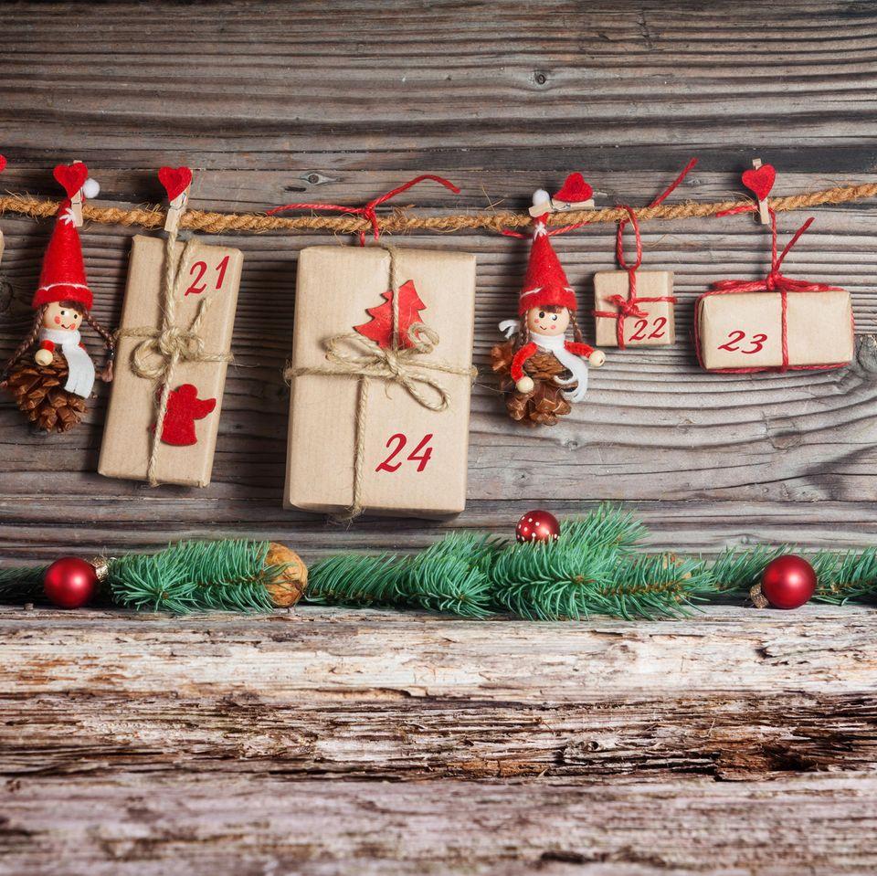 Adventskalender für Männer: Adventskalender, Wichtel, Adventsdeko, Adventstürchen