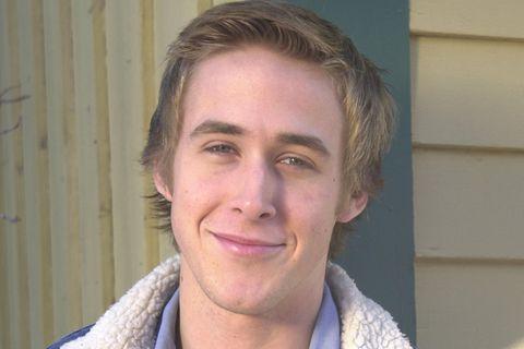 Ryan Gosling: mit Jeansjacke