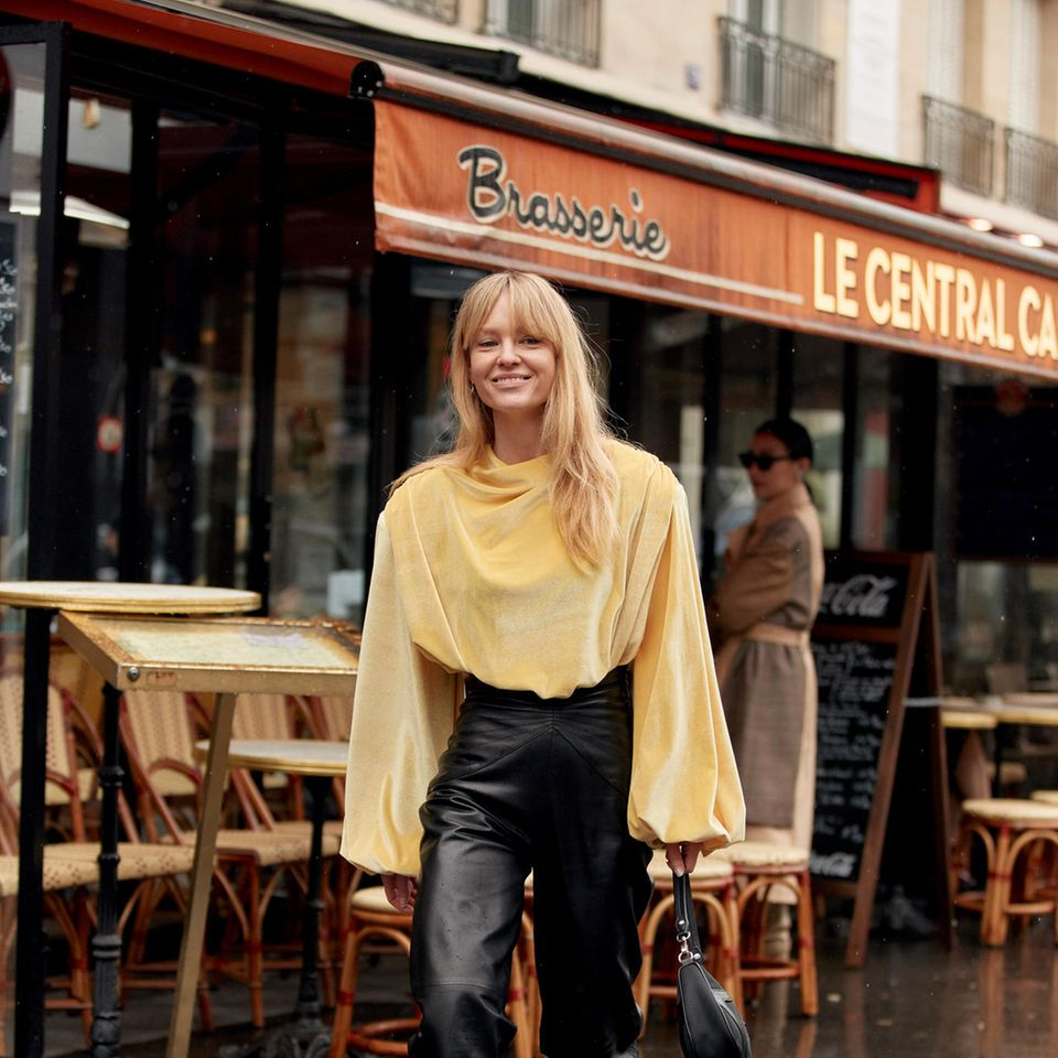 Styling Fehler: Pariser Streetstyle Mode