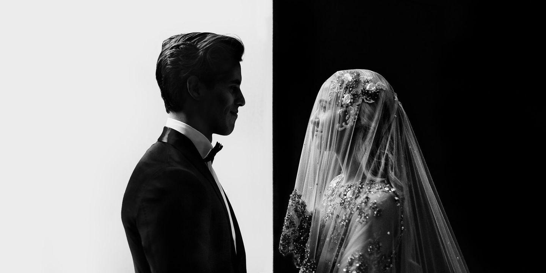 Die schönsten Hochzeitsbilder des Jahres: Paar schaut sich an