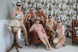Die schönsten Hochzeitsbilder des Jahres: Brautjungfern in Unterwäsche