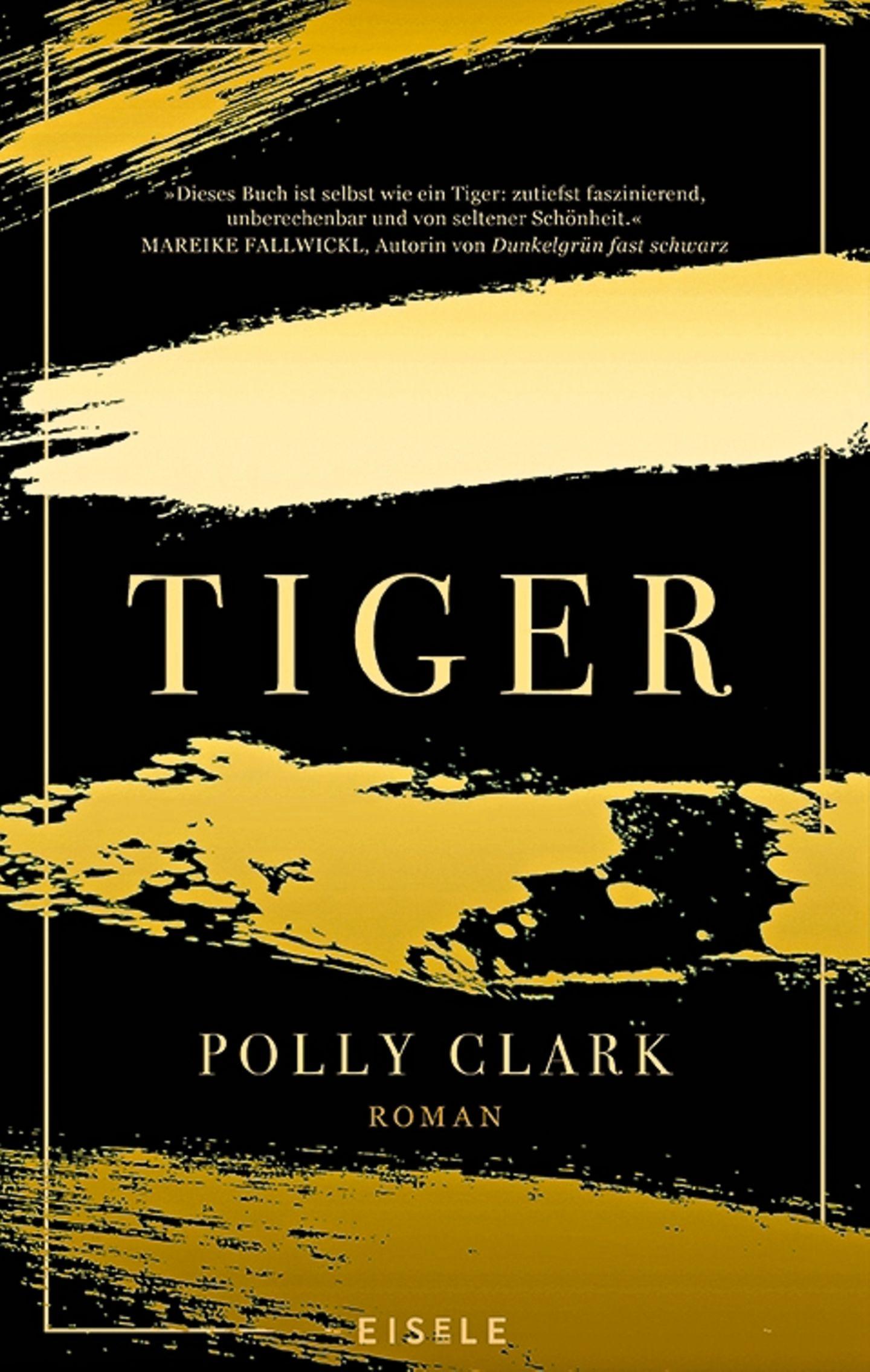 """Buchtipps der Redaktion: Buchcover """"Tiger"""""""