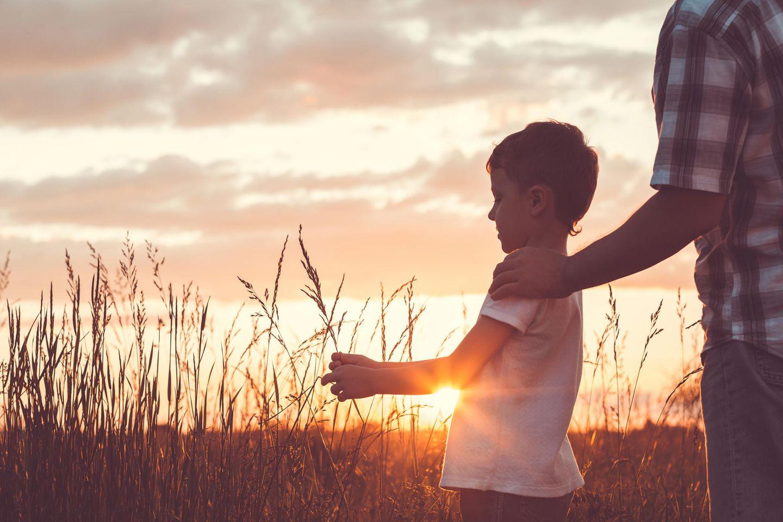 Männer erzählen: Vater mit Sohn