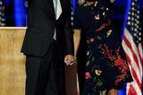Jill Biden: mit Joe Biden im Blumenkleid