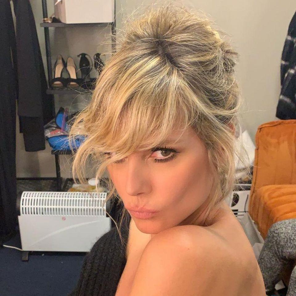 Heidi Klum im sexy Bondage-Look