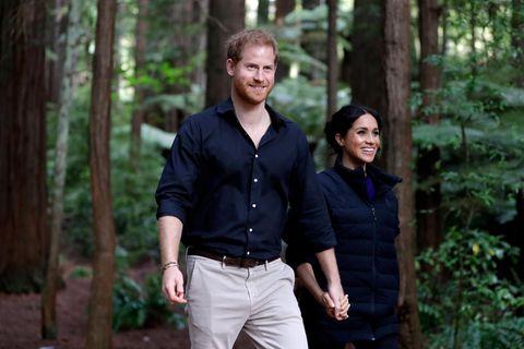 Prinz Harry und Herzogin Meghan brechen erneut mit königlicher Tradition
