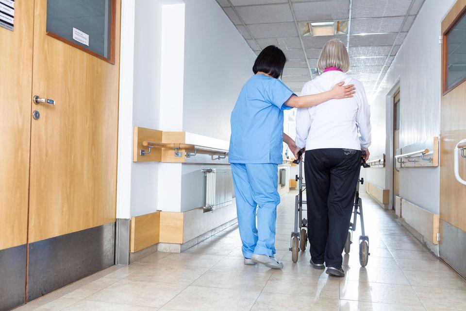 Corona aktuell:  Pflegeheim