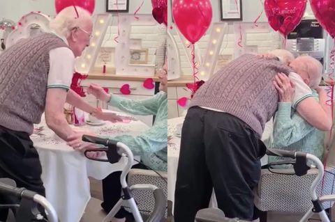 Wiedersehen im Pflegeheim