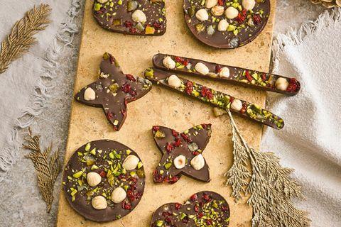 Schokoladen-Stücke