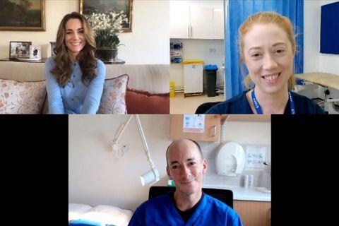 Herzogin Catherine: Emotionaler Call mit Krankenschwester