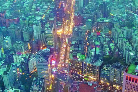 Taiwan-Reise: Taiwan von oben
