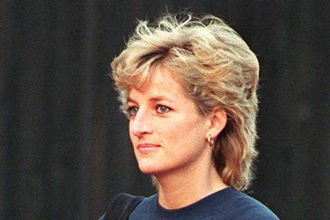 Prinzessin Diana als Reinigungskraft
