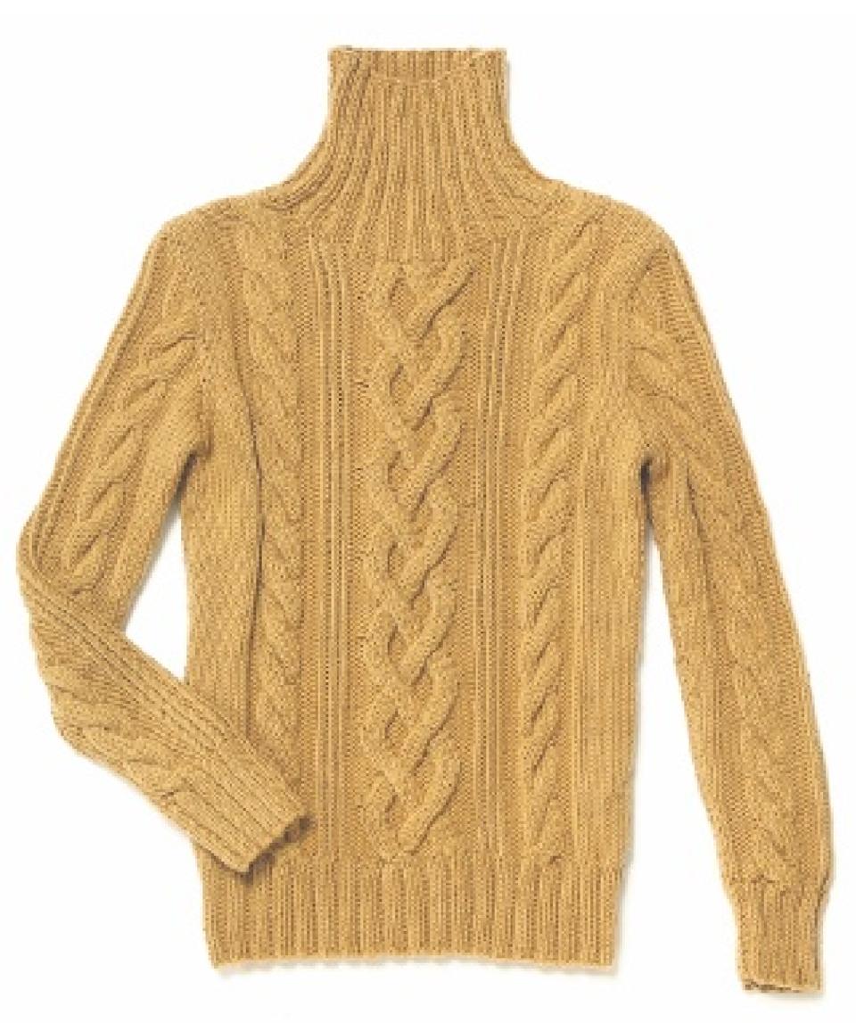 Strickanleitung: Pullover mit Zopfmuster