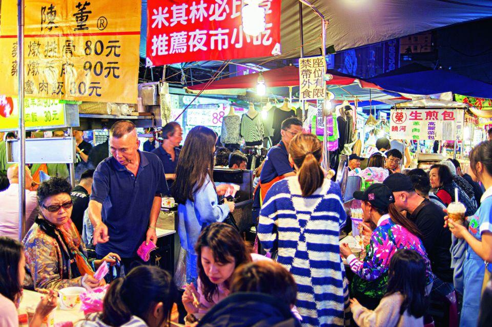Taiwan-Reise: Nachtmarkt