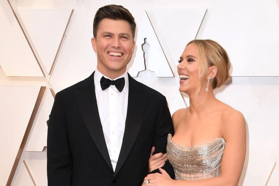 Heimliche Hochzeiten: Scarlett Johansson und Colin Jost