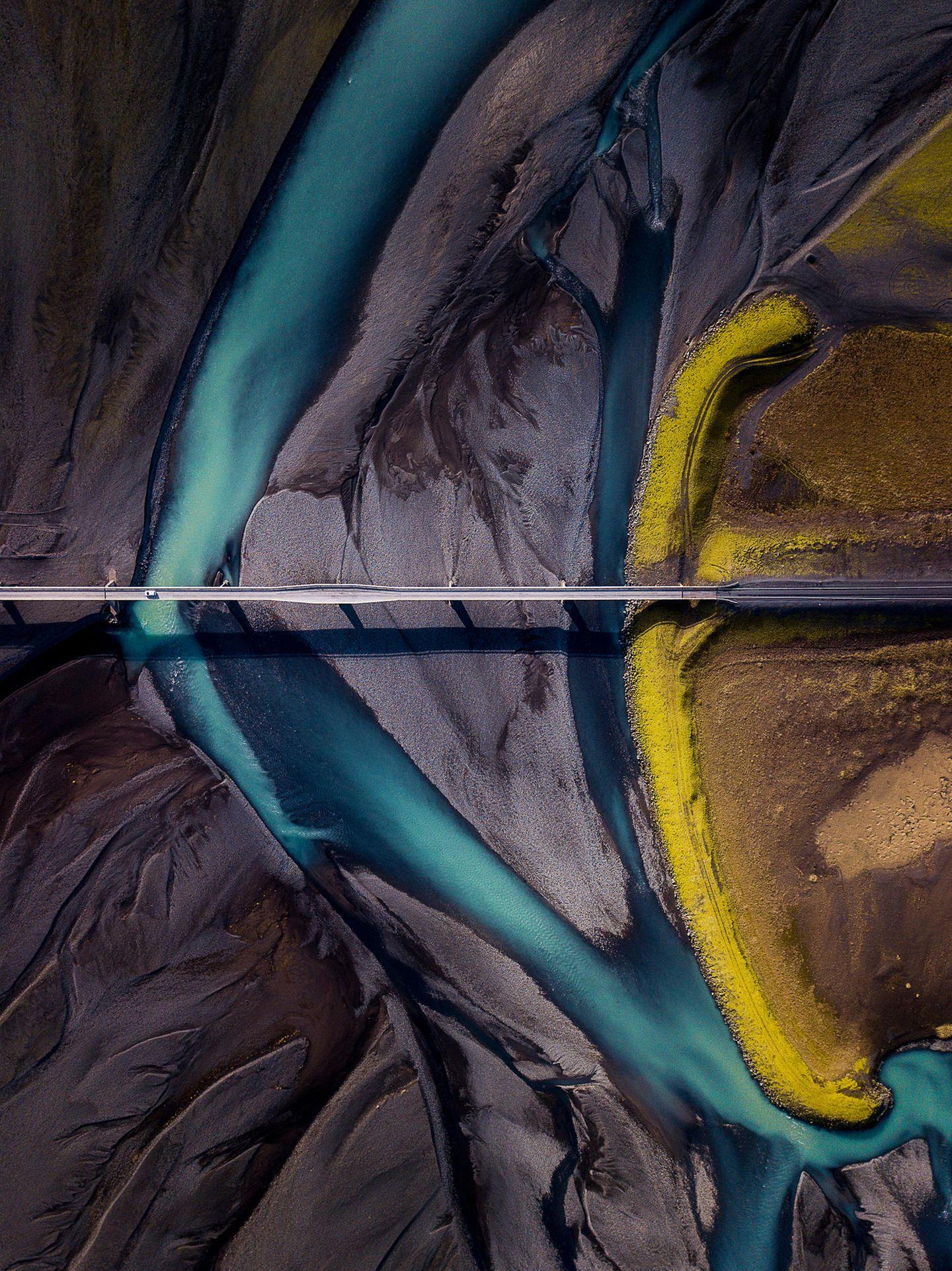 ILPOTY 2020: Berge und Fluss von oben