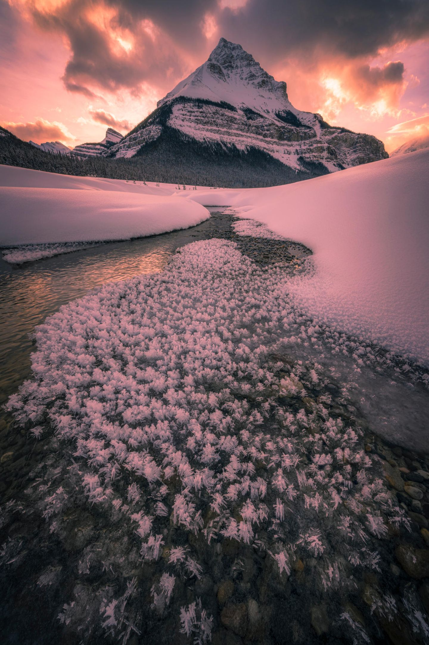 ILPOTY 2020: Berg mit Schnee