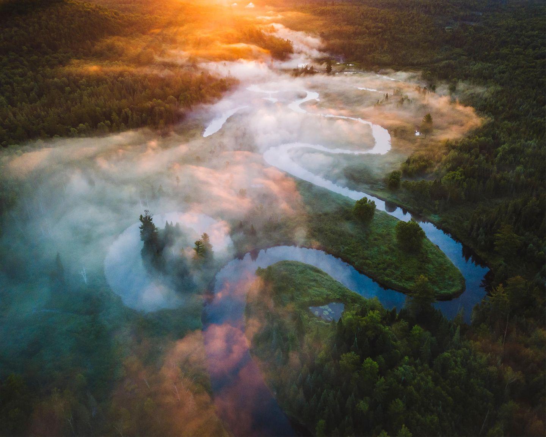 ILPOTY 2020: Fluss von oben