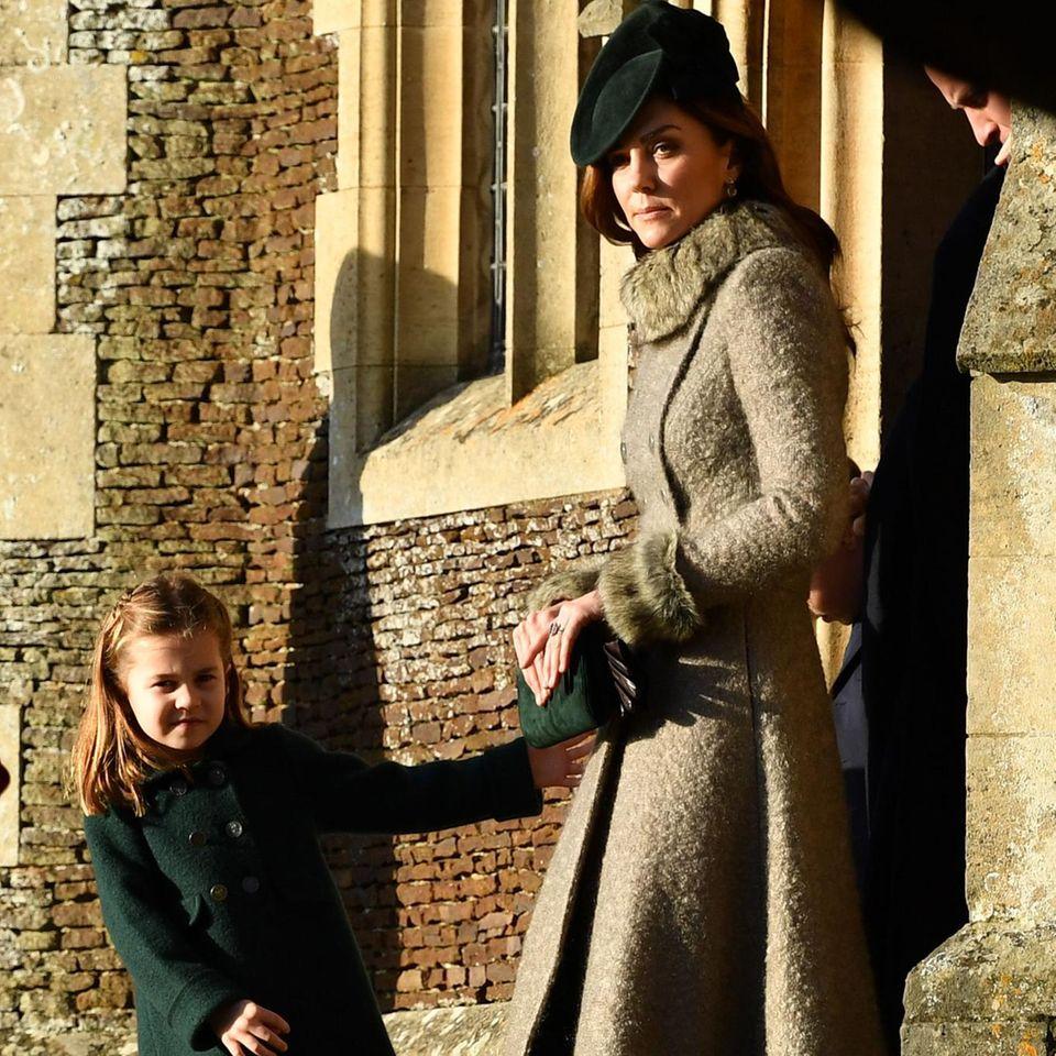 Herzogin Catherine: Wird Charlotte ihr Doppelgänger?