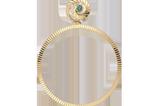 Die perfekten Creolen für die Festtage! Wir können die goldenen Ohrringe von Jane Konig als Single-Earring tragen und ein Statement setzen, oder ganz klassisch als Paar. Vergoldet, einzeln ca. 88 Euro, im Set ca. 176 Euro
