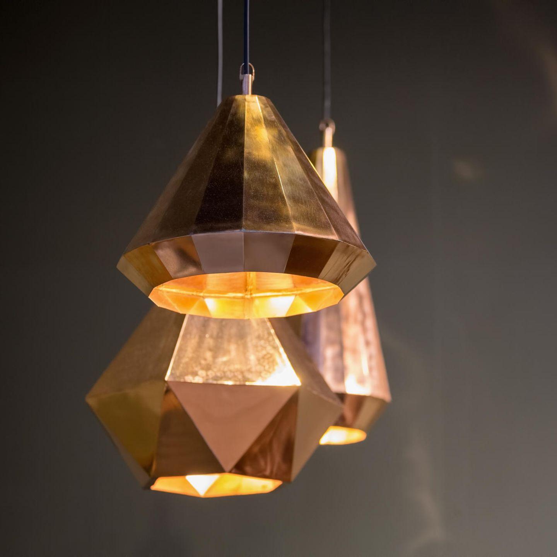 Bronze-Lampe