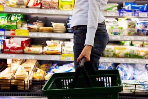 Rückruf: Käse und Wurst auf dem Supermarkt