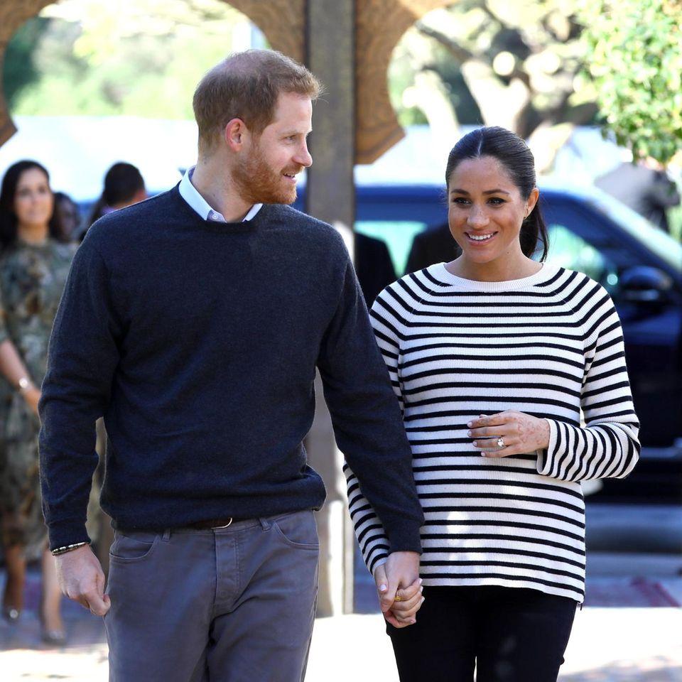 Prinz Harry + Herzogin Meghan: Neue Regeln für zweite Schwangerschaft