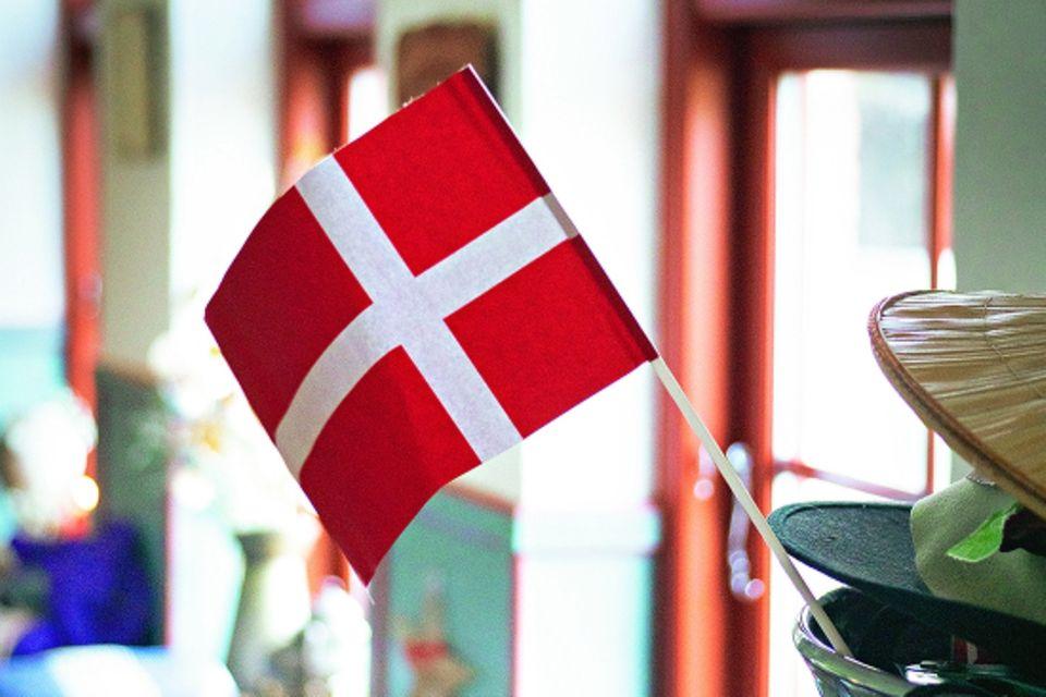 Jütland: Dänemark-Flagge