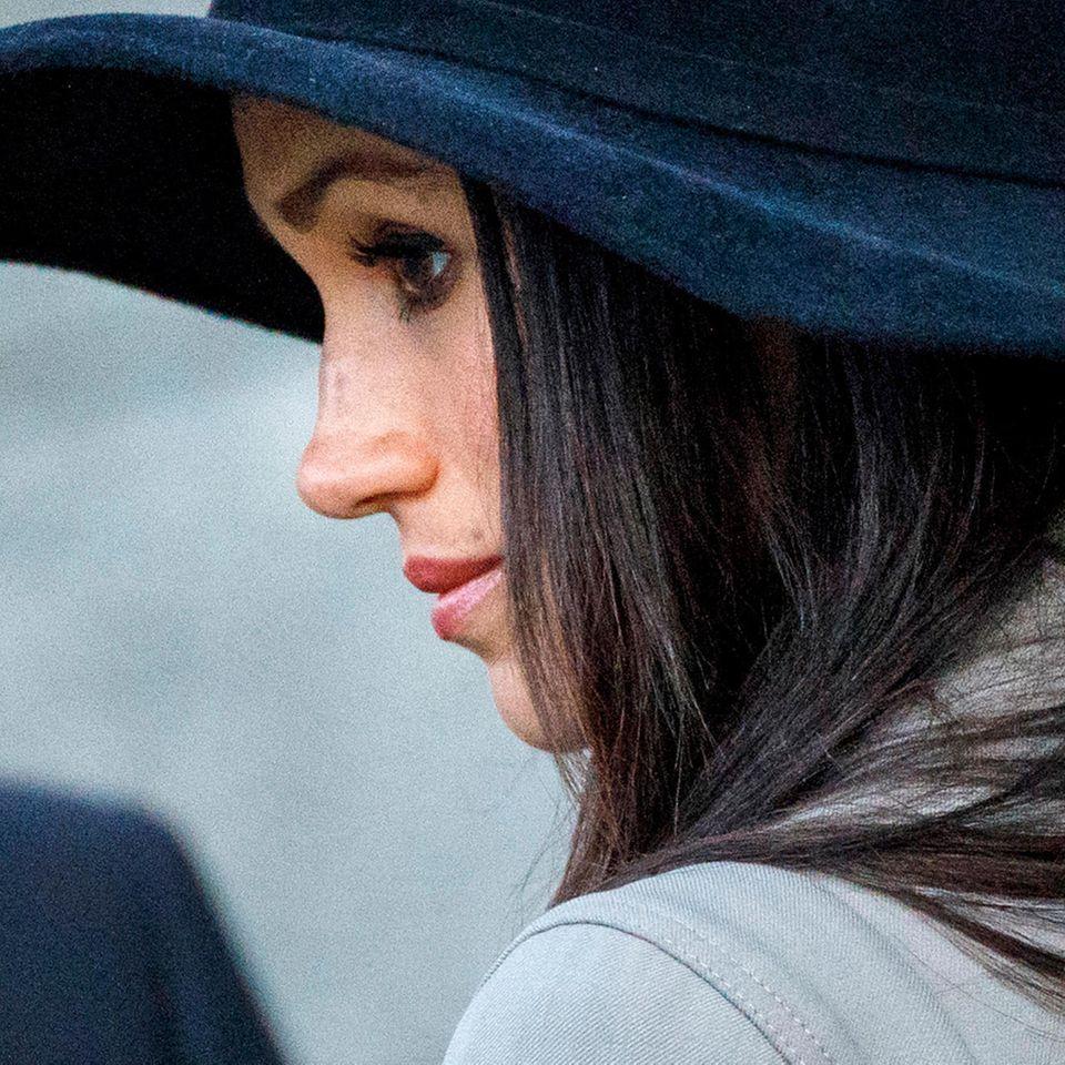 Herzogin Meghan mit Hut