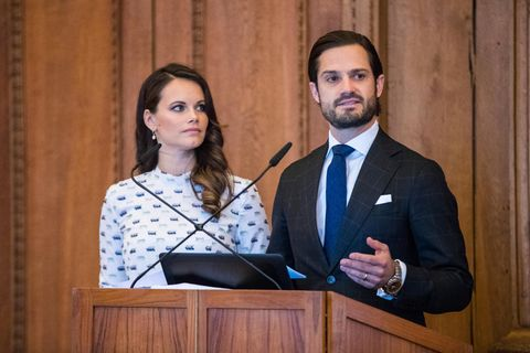 Corona: Prinz Carl Philip und Sofia sind erkrankt