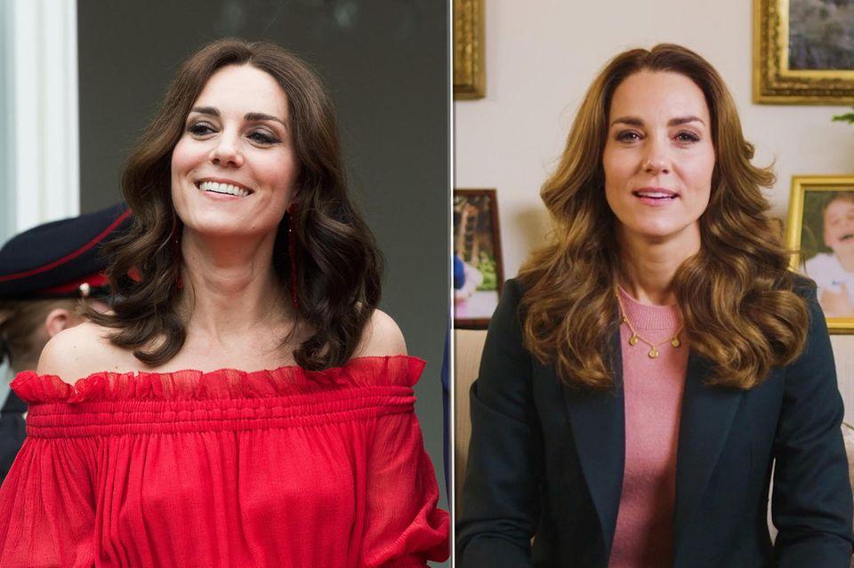 Herzogin Catherine: Das steckt hinter ihrem neuen Beauty-Look
