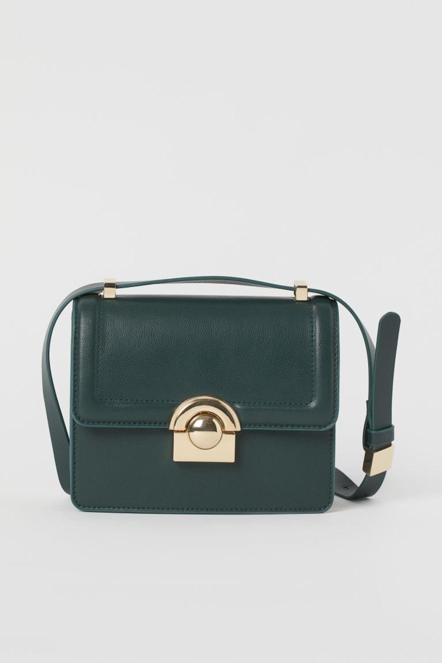 Crossbody-Bags: H&M Tasche in flaschengrün
