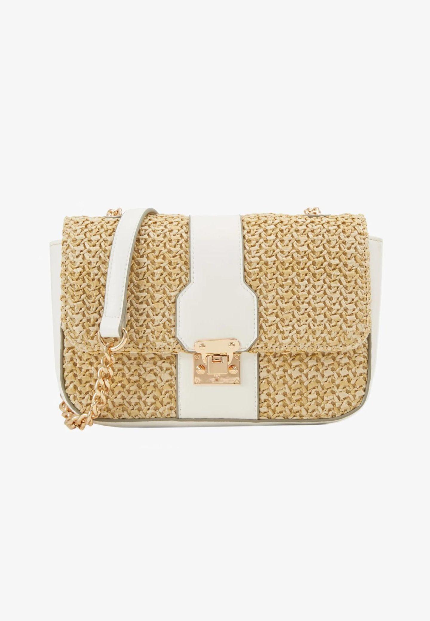 Crossbody-Bags: Tasche weiß Zalando