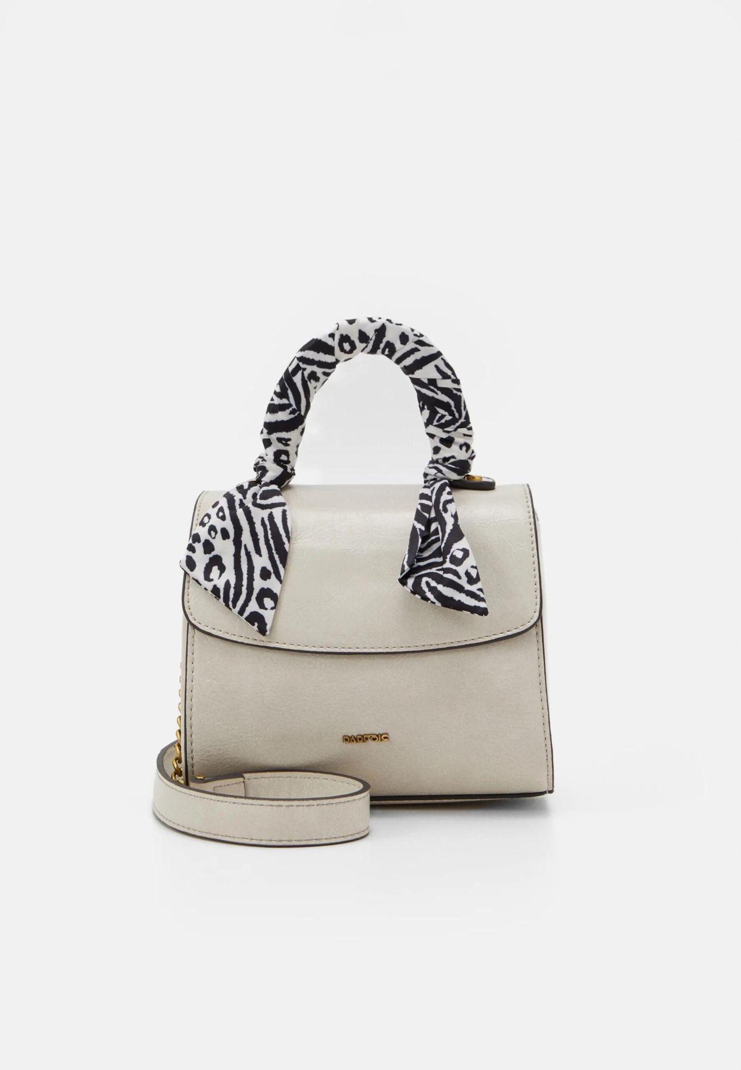 Crossbody-Bags: Parfois Tasche hellgrau