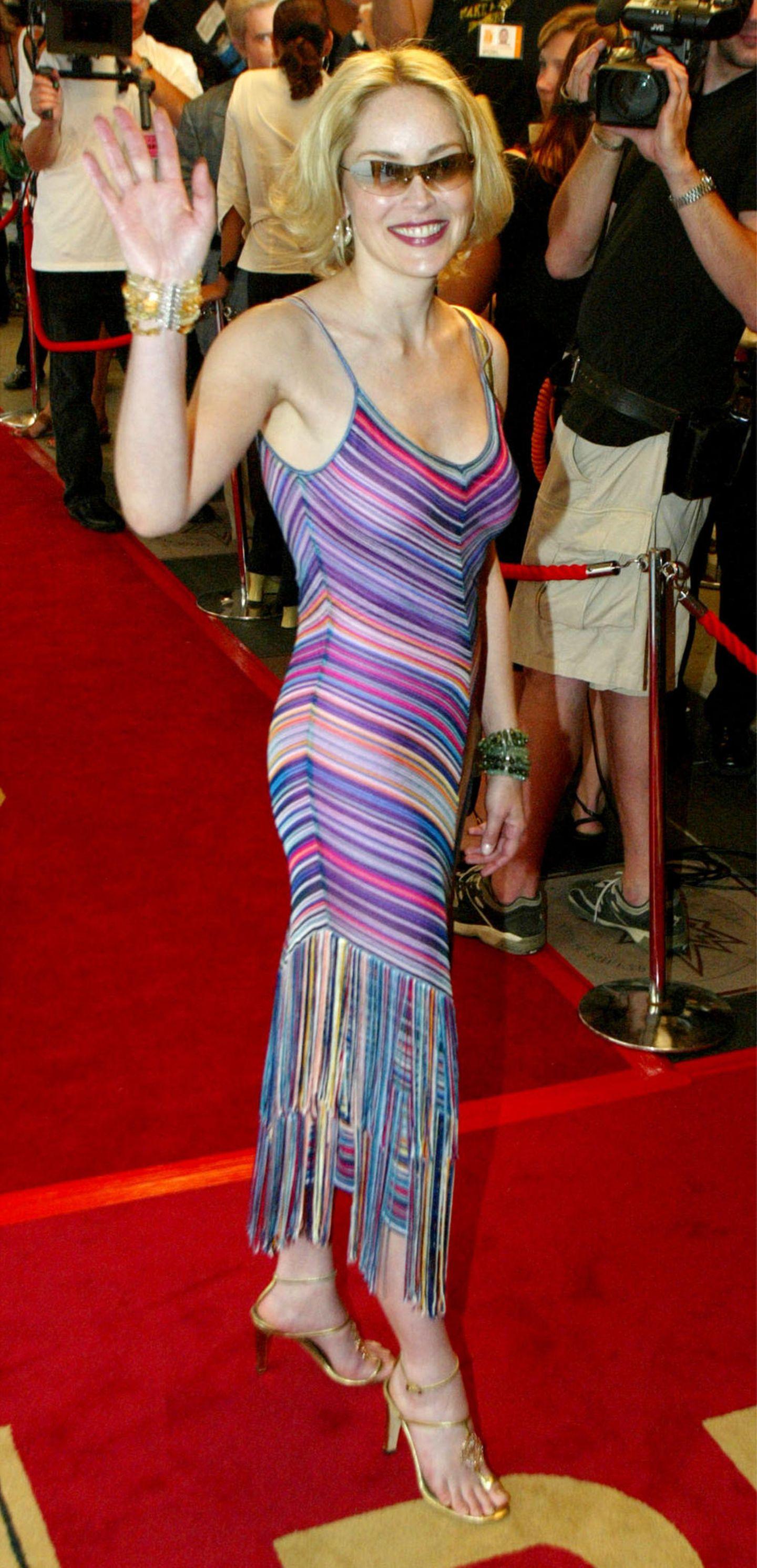 Früher & heute: Sharon Stone
