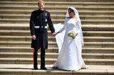 Promi-Brautkleider: Meghan Markle und Prinz Harry