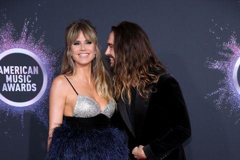Heidi Klum: Tom Kaulitz und Heidi auf dem roten Teppich