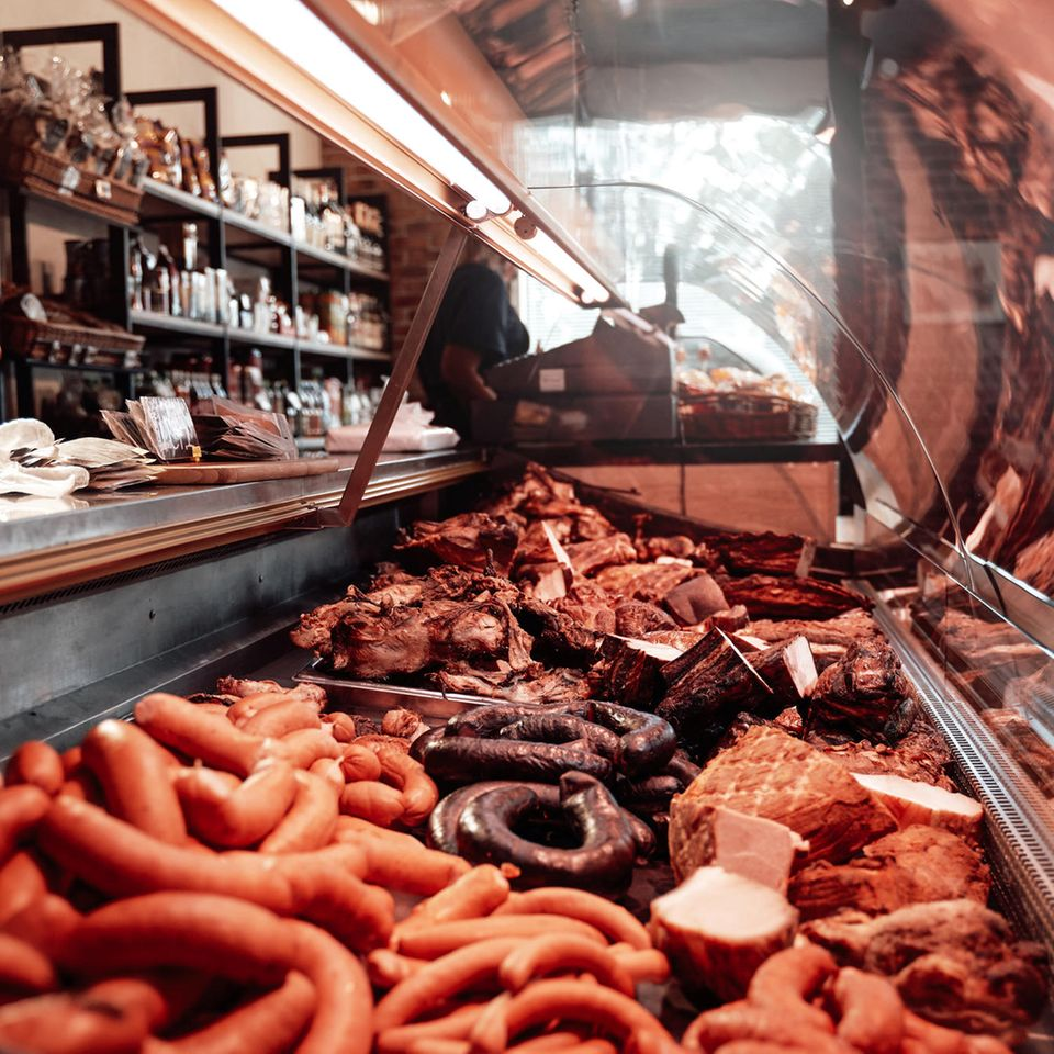 Rückruf: Wurst-Theke im Supermarkt