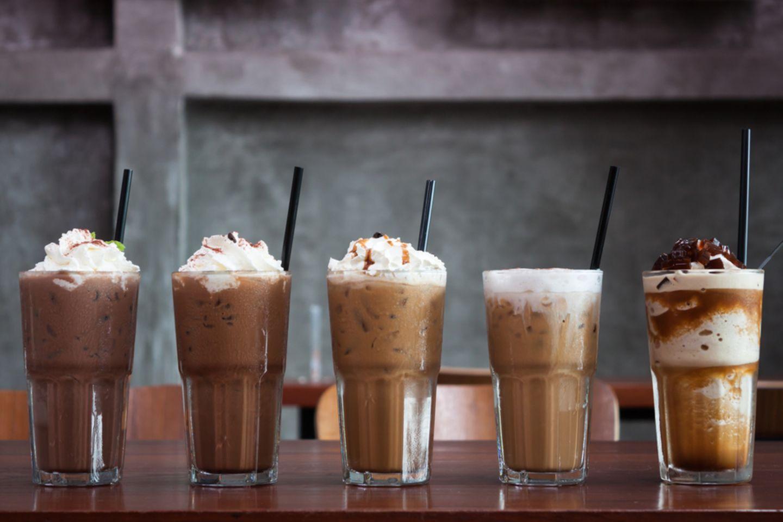 Eiskaffee-Variationen