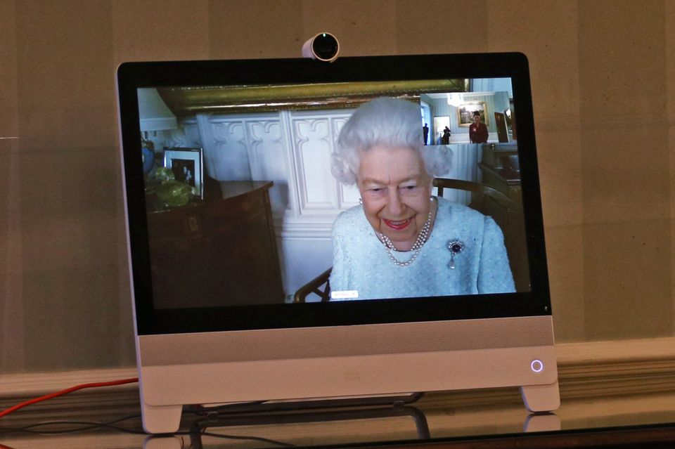 Queen Elizabeth meldet sich am 4. Dezember aus Schloss Windsor.