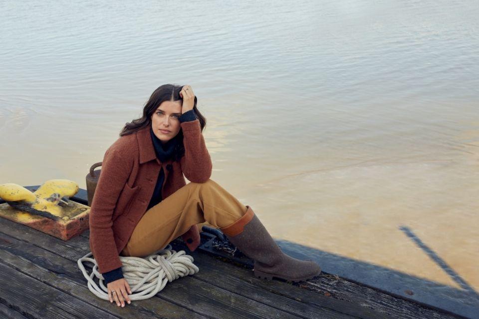 Marie Nasemann: Shacket zu Baumwollhose