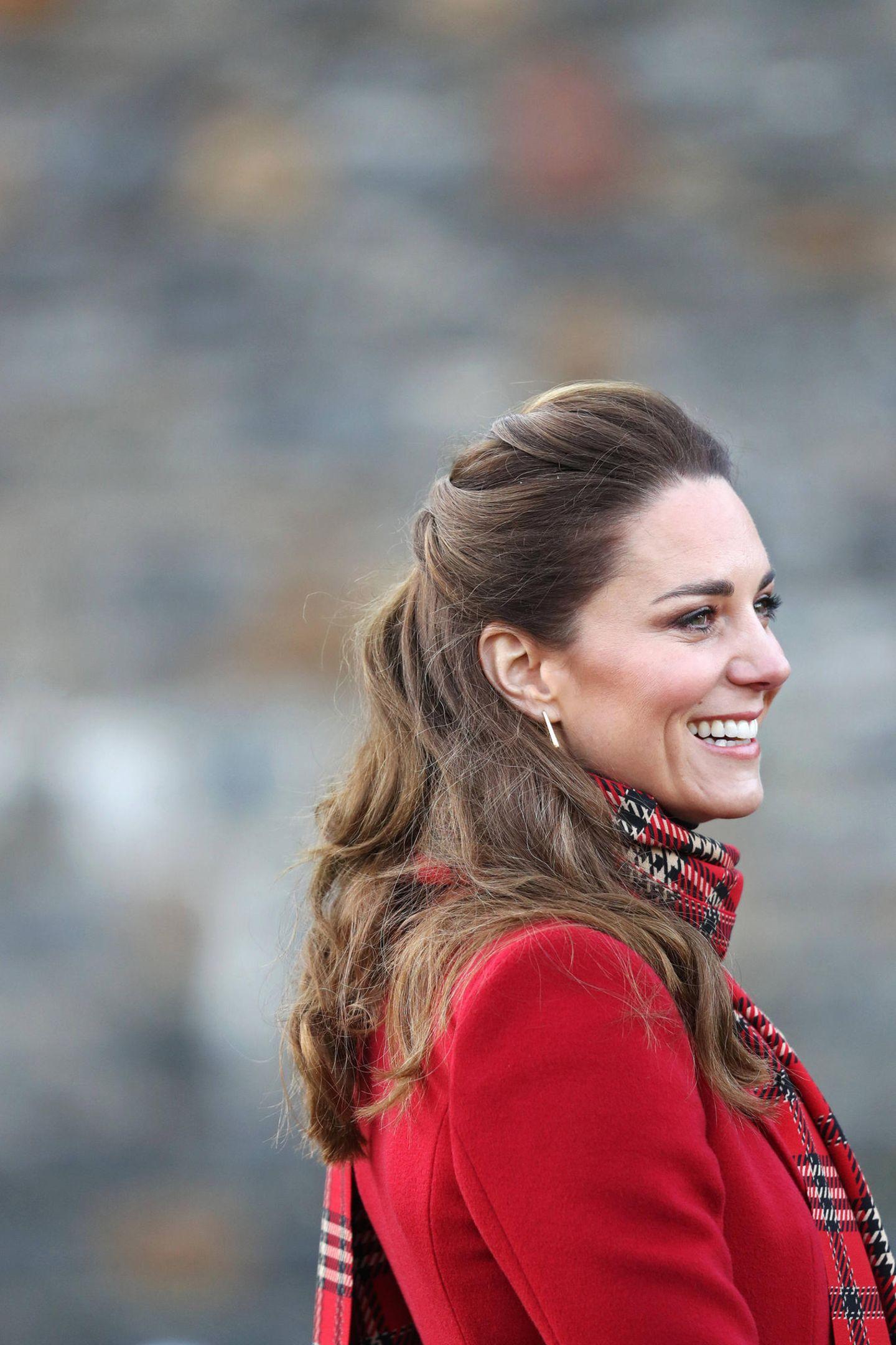 Herzogin Kate: miit Half-up-Hair