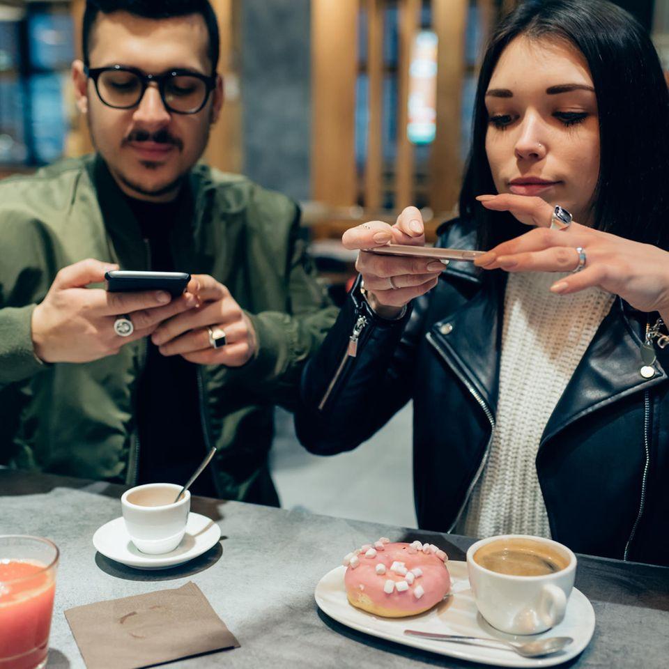 Influencer fotografieren Essen
