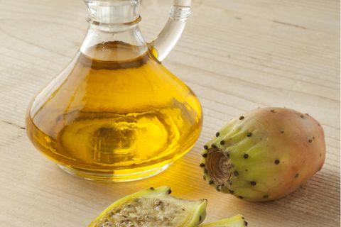 Kaktusfeigenkernöl: Öl und Früchte