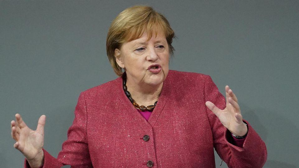 Angela Merkel: Wütender Appell an die Vernunft