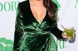 Abstinente Promis: Kim Kardashian mit Drink in der Hand