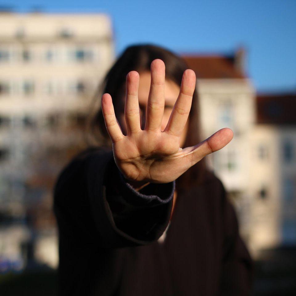Catcalling: Frau zeigt Stopp